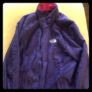 Snuggly The North Face purple fleece XL
